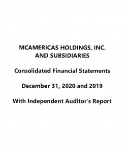 2020 Consolidated Financial Statements