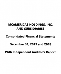 2019 Consolidated Financial Statements
