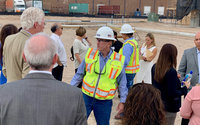 City Officials Tour VA Wellness Clinic Due to Open Early 2020